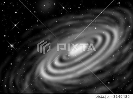 宇宙空間 アンドロメダ 渦巻星雲 星雲のイラスト素材 - PIXTA