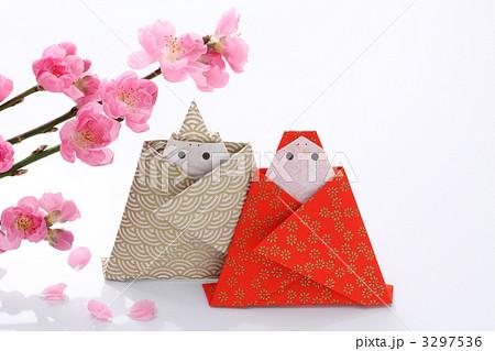 クリスマス 折り紙 雛人形 折り紙 : pixta.jp