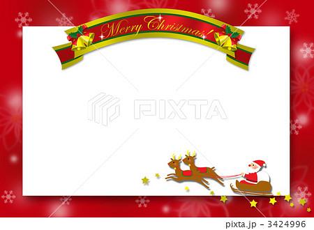 クリスマスカード クリスマス ホワイトボード 背景の写真素材 Pixta