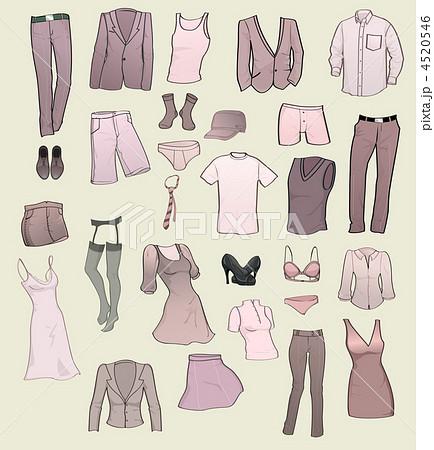 男物 衣料品 服 デザイン イラスト メンズ アイコンの写真素材 Pixta