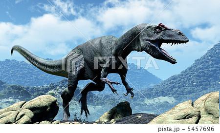 アロサウルスのイラスト素材 - P...
