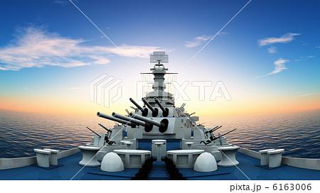 イージス艦のイラスト素材 Pixta