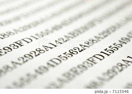 十六進法の写真素材 - PIXTA