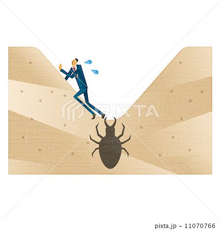 「蟻地獄 イラスト」の画像検索結果