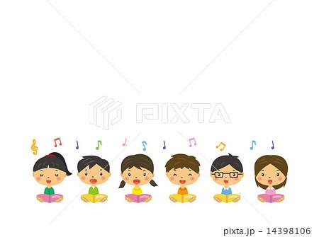 合唱コンクール音楽会のイラスト素材集 Pixtaピクスタ