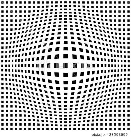 白黒 チェック 四角形 モノトーン チェック柄 背景素材のイラスト素材