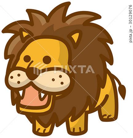 ライオン イラスト かわいい 動物 カットイラストのイラスト素材 Pixta