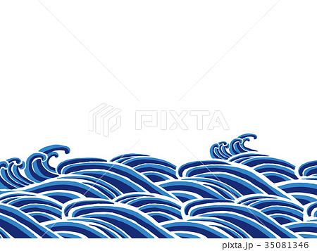 波のイラスト素材集 - PIXTA(ピ...