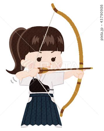 弓矢のイラスト素材 Pixta