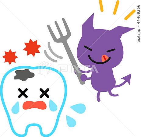 虫歯菌のイラスト素材 Pixta